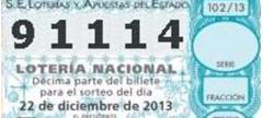 És un dels números més sol·licitats per a la Loteria 2013 a Catalunya